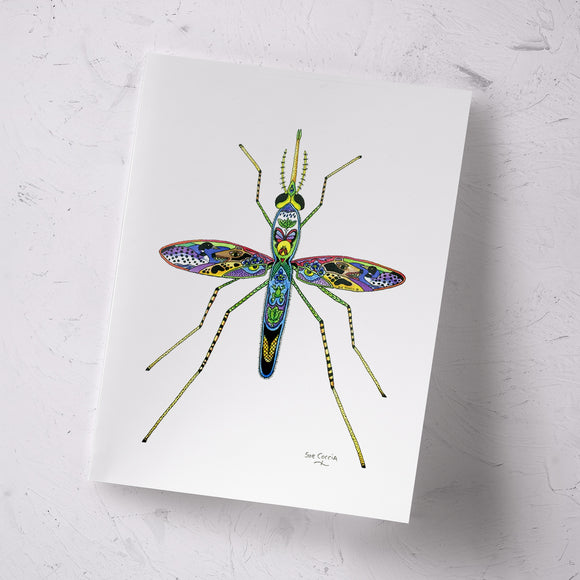 Mosquito Signed Print