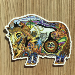 Musk Ox Sticker