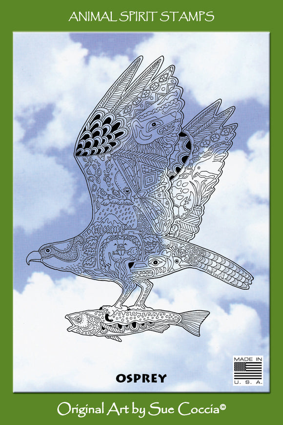 Osprey Rubber Stamp