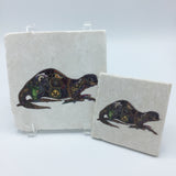 River Otter Coasters and Trivets
