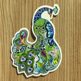 Peacock Sticker