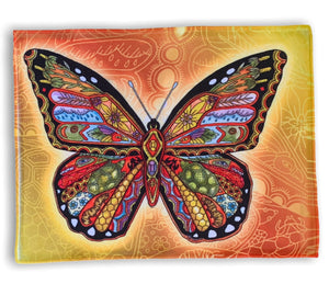 Monarch Butterfly Microfiber Cleaning Cloth