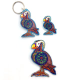 Puffin Magnets, Keychains and Pins