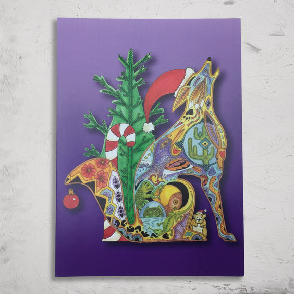 Coyote Holiday Boxed Card Set (8)