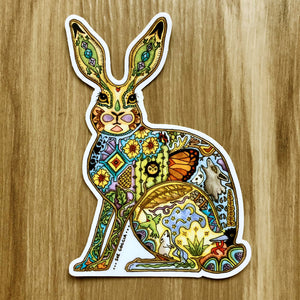 Jackrabbit Sticker