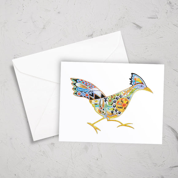 Roadrunner Note Card