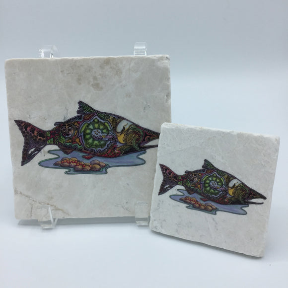 Salmon Coasters and Trivets