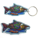 Salmon Magnets and Keychains