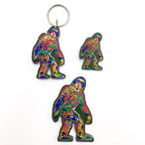 Sasquatch Magnets, Keychains and Pins