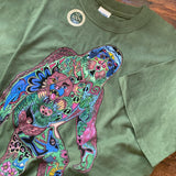 Sasquatch Green Shirt