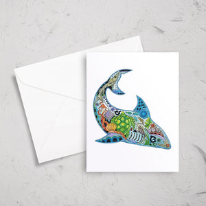 Shark Note Card