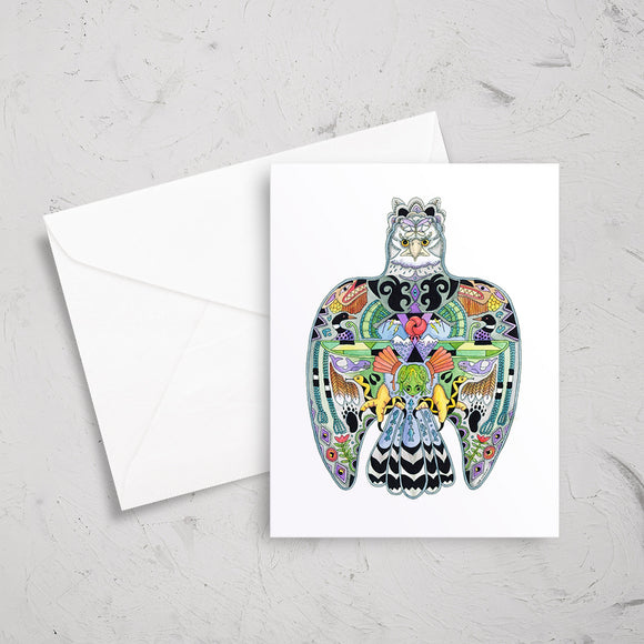 Thunderbird Note Card
