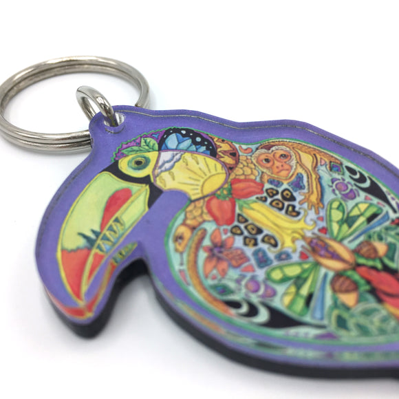 Toucan Keychains