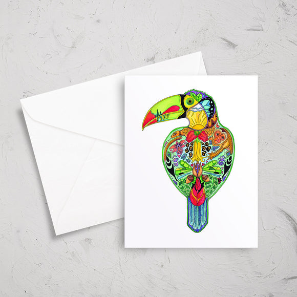 Toucan Note Card
