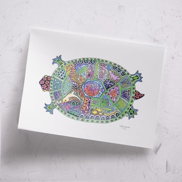 Turtle Signed Print