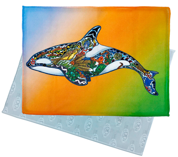 Granny Orca Microfiber Cleaning Cloth