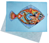 Halibut Microfiber Cleaning Cloth