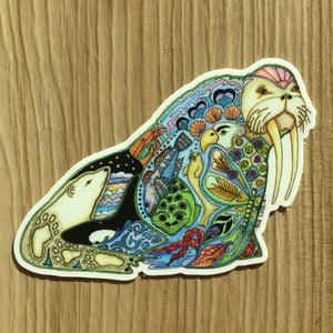 Walrus Sticker
