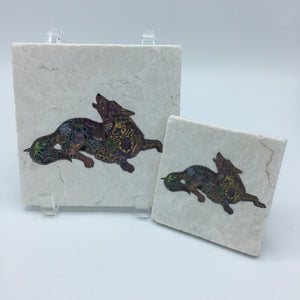 Wolf Coasters and Trivets