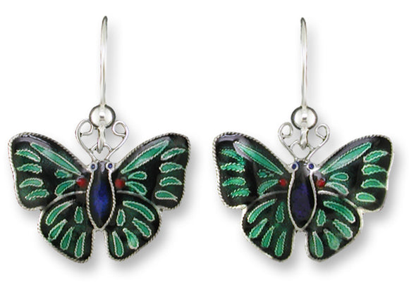 Apollo Metalmark Butterfly Earrings
