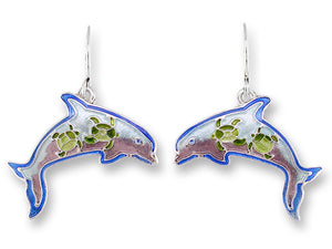 Dolphin Montage Earrings