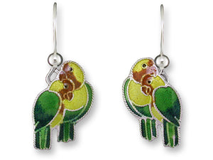 Fischer's Lovebirds Earrings