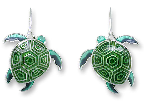 Hawaiian Honu Earrings