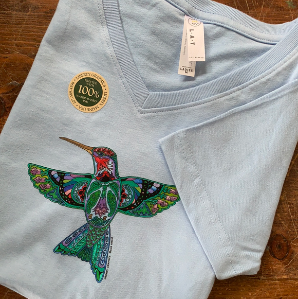Hummingbird Shirt Ladies