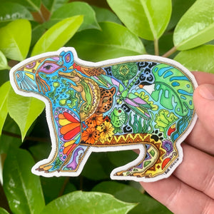 Capybara Sticker