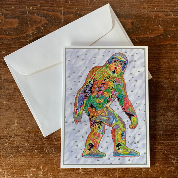 Sasquatch Holiday Card