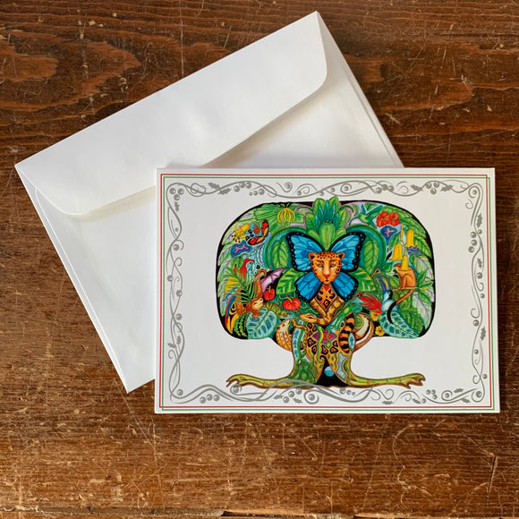 Tree of life Holiday Card
