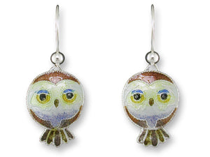 Pygmy Owl Earrings
