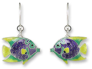 Tropical Angelfish Earrings