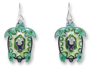 Turtle Montage Earrings