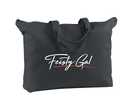 Feisty Gal Logo Tote Bag