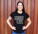 Rise Up Scoopneck T-Shirt