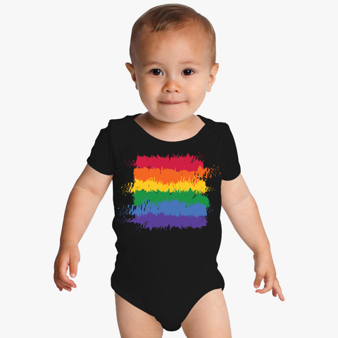Rainbow Flag Infant Bodysuit