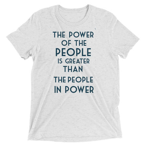 The Power of the People Unisex t-shirt