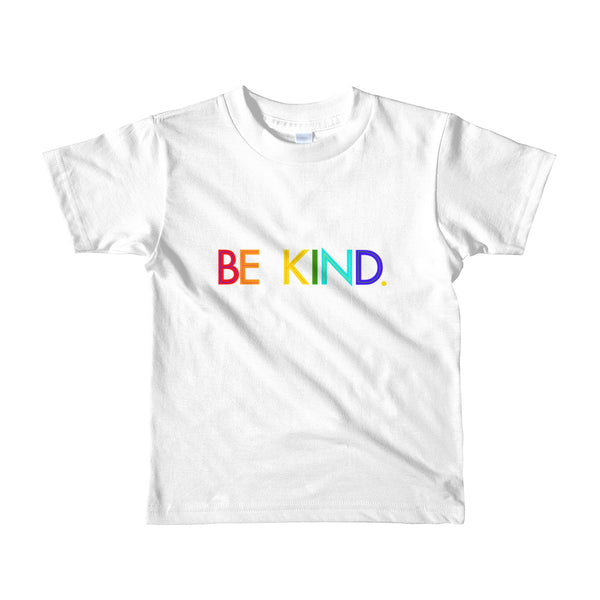 Be Kind Rainbow Kids and Children T-shirt