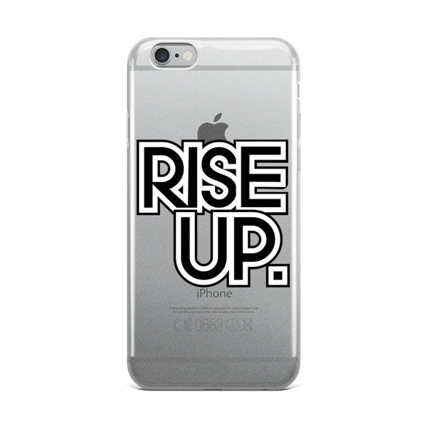 Rise Up iPhone Case