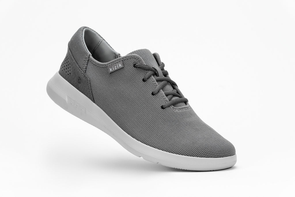 Men's Madrid Eco Knit - Light Grey Grey Outsole
