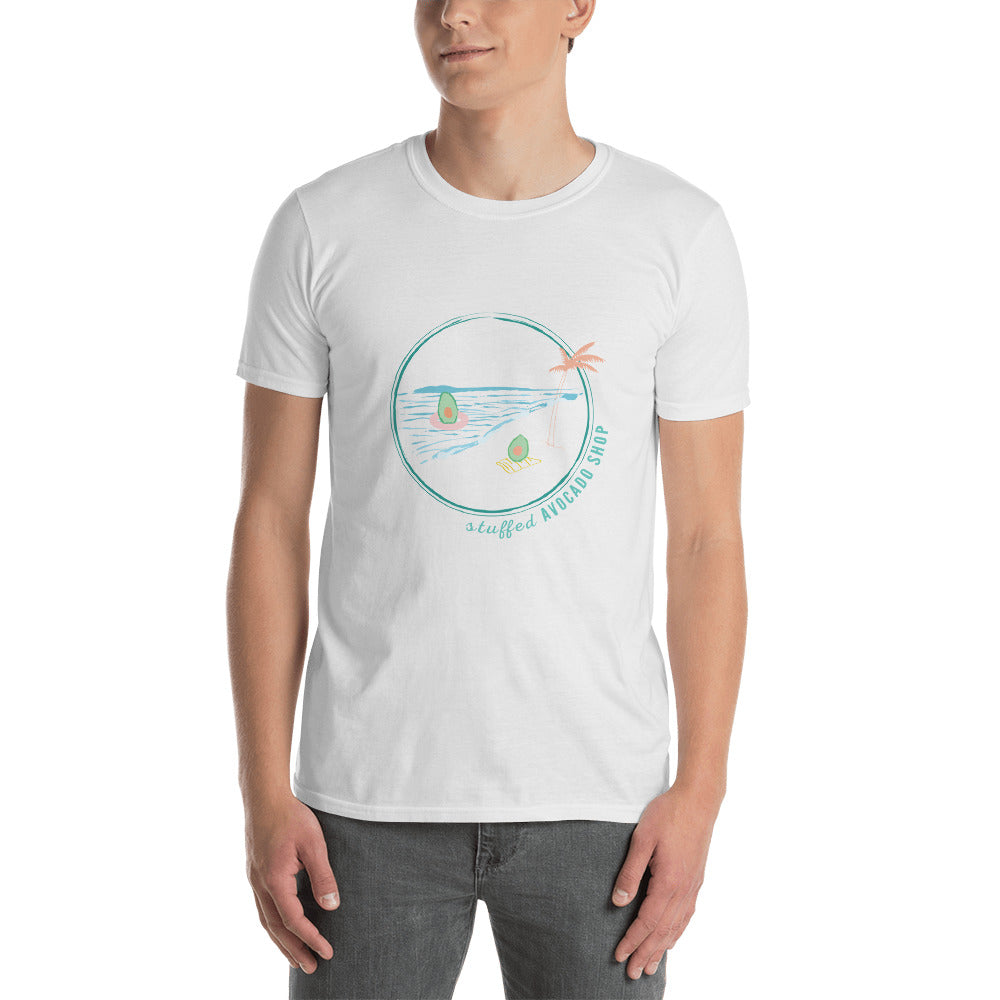 Avo on the Beach T Shirt (2 colors)