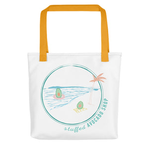 Avo on the Beach Tote Bag (3 colors)