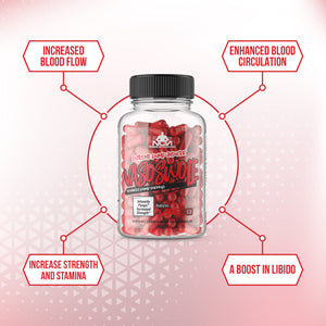 VASOSWOLE benefits Pure Vaso6 Premium Grade Dietary Nitric Oxide Booster Dietary Supplement