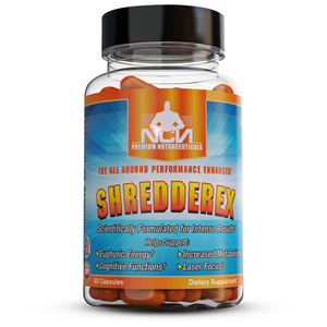 SHREDDEREX - The Game Changing Fat Burning Thermogenic Cognitive Enhancer!  Produced by Natural Chemist Nutraceuticals (NCN Supps) FORMERLY SHREDDERALL
