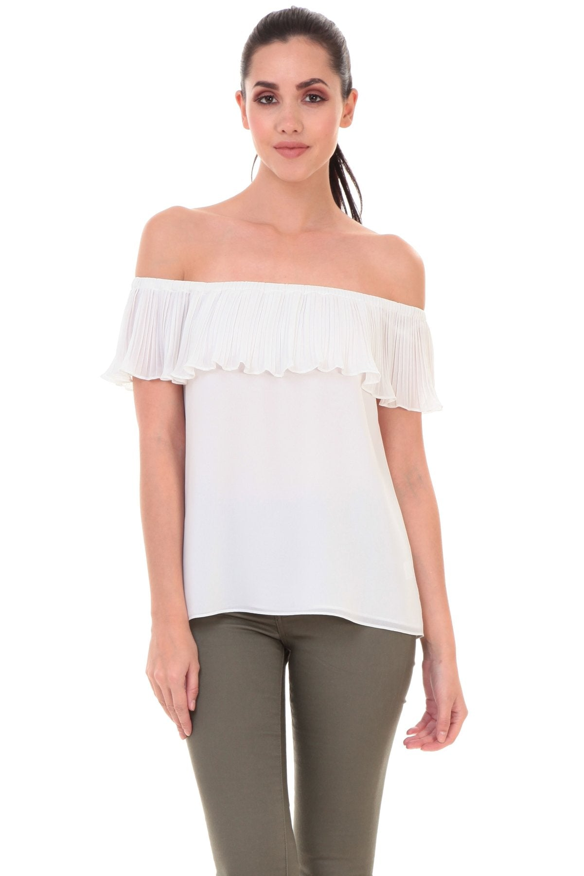 ALEAH OFF SHOULDER BLOUSE