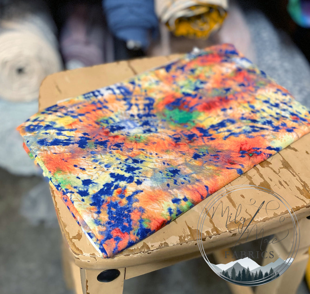 Totally Rad Tie Dye