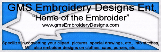 GMS Embroidery Designs Ent.