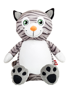 Mr. Miowgi the Cat Personalized Teddy Bear – Cubbies®
