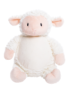 "Furry ""Loverby"" Lamb Personalized Teddy Bear – Cubbies®"